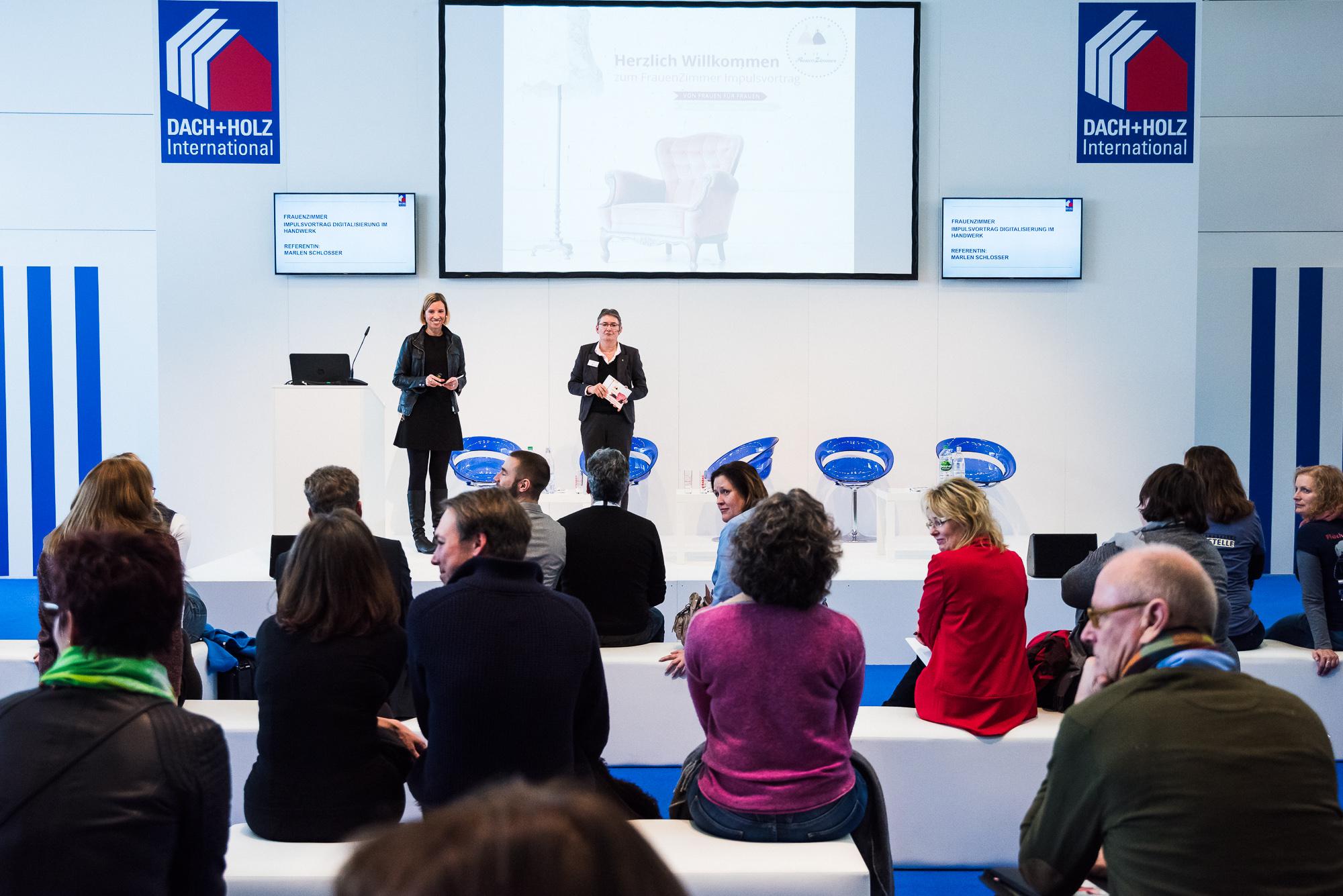 DACH+HOLZ in Köln: Großes Interesse bei Vortrag zur Digitalisierung