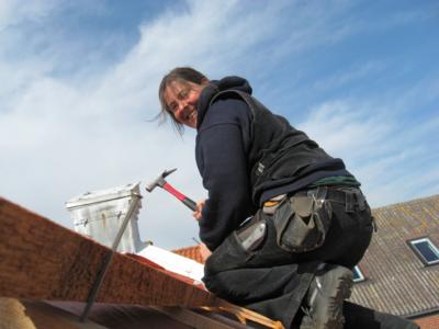 Maren Meyer-Kohlus bei der Arbeit