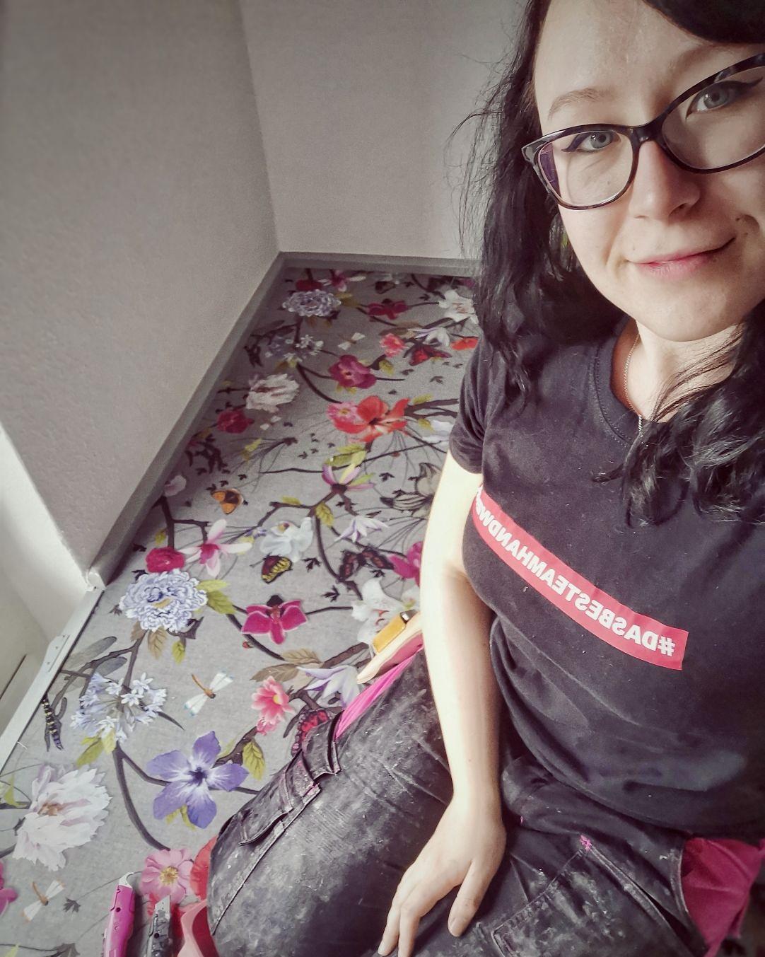 Frauen im Handwerk: Raumausstatterin Silja Kinast