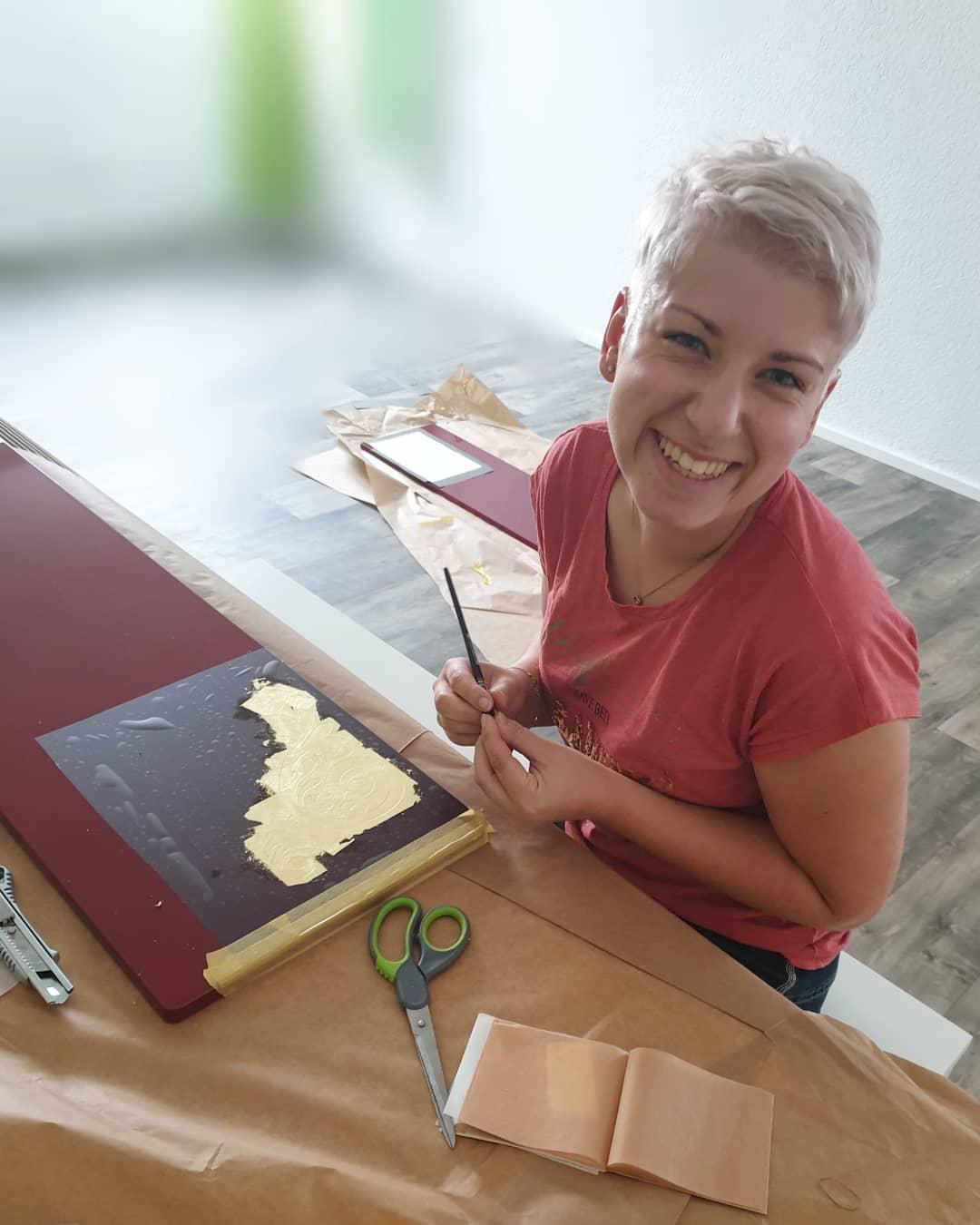 Frauen im Handwerk: Malermeisterin Larissa Mann