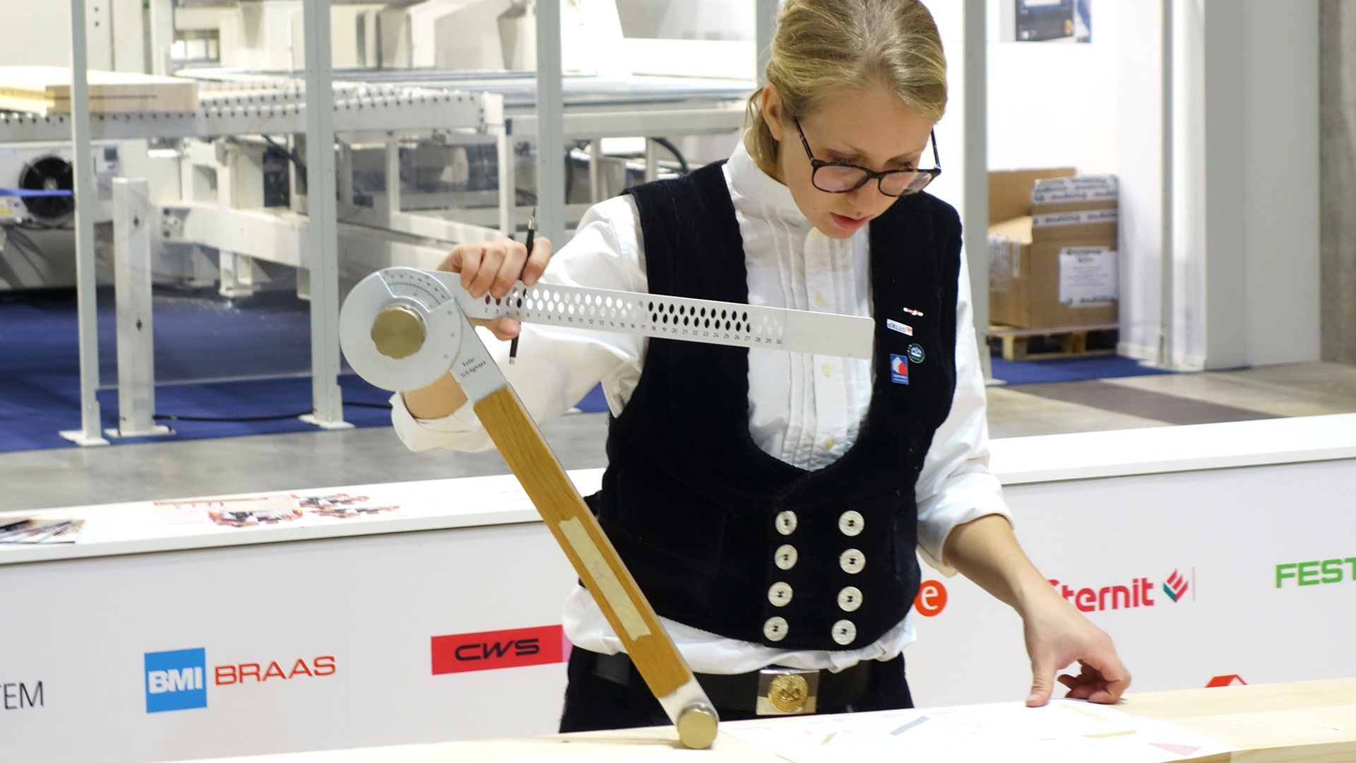 Katja Wiesenmüller – die erste Frau der Deutschen Zimmerer-Nationalmannschaft – berichtet von ihrer aufregenden Zeit