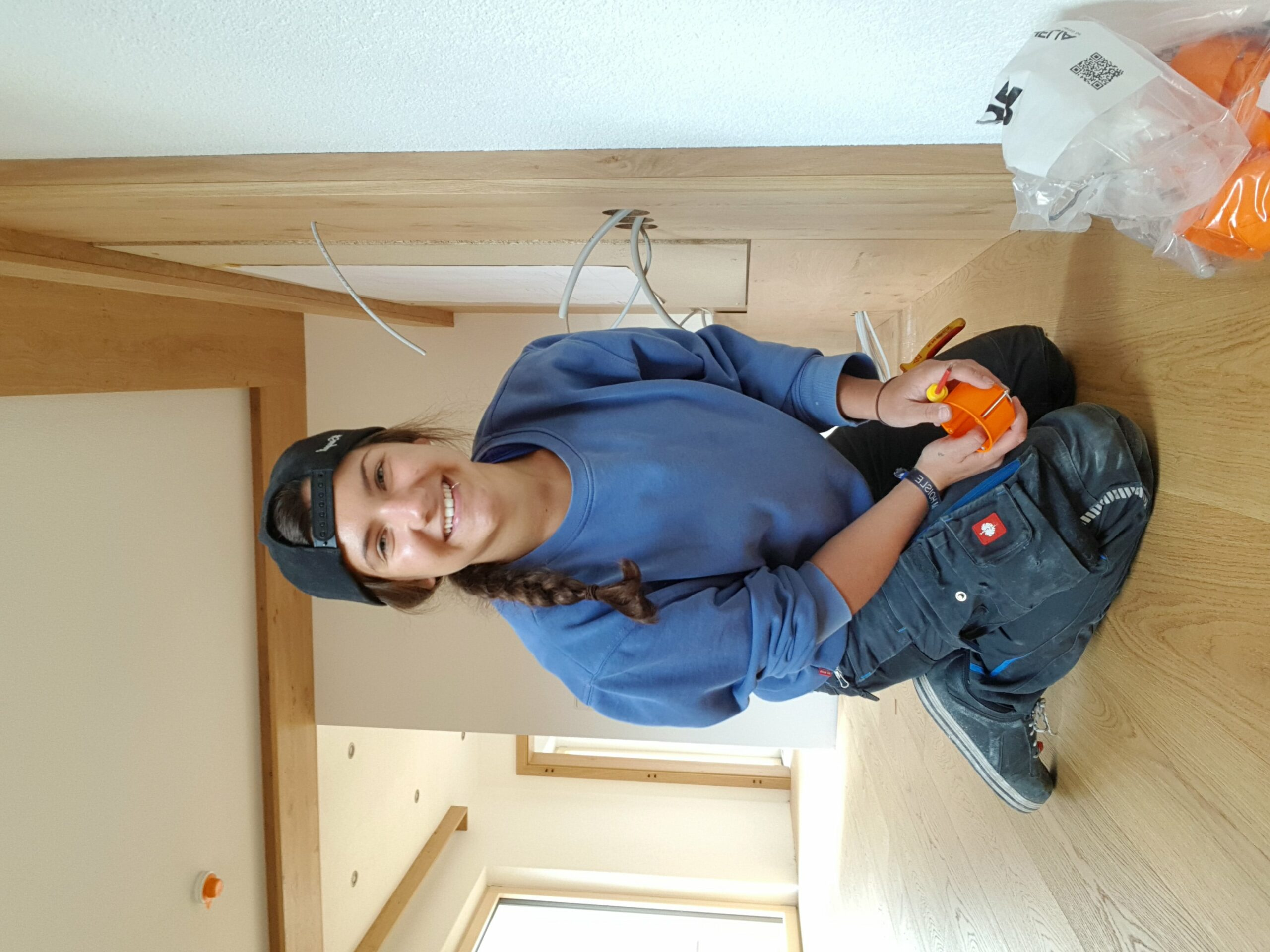 Frauen im Handwerk: Elektrotechnikerin Selina Paller