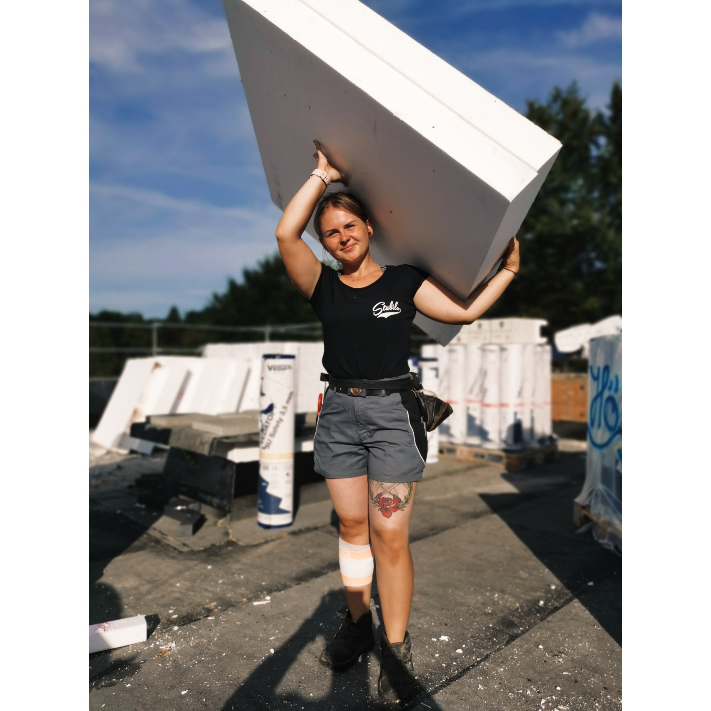 Frauen im Handwerk: Dachdeckerin Lisa K.