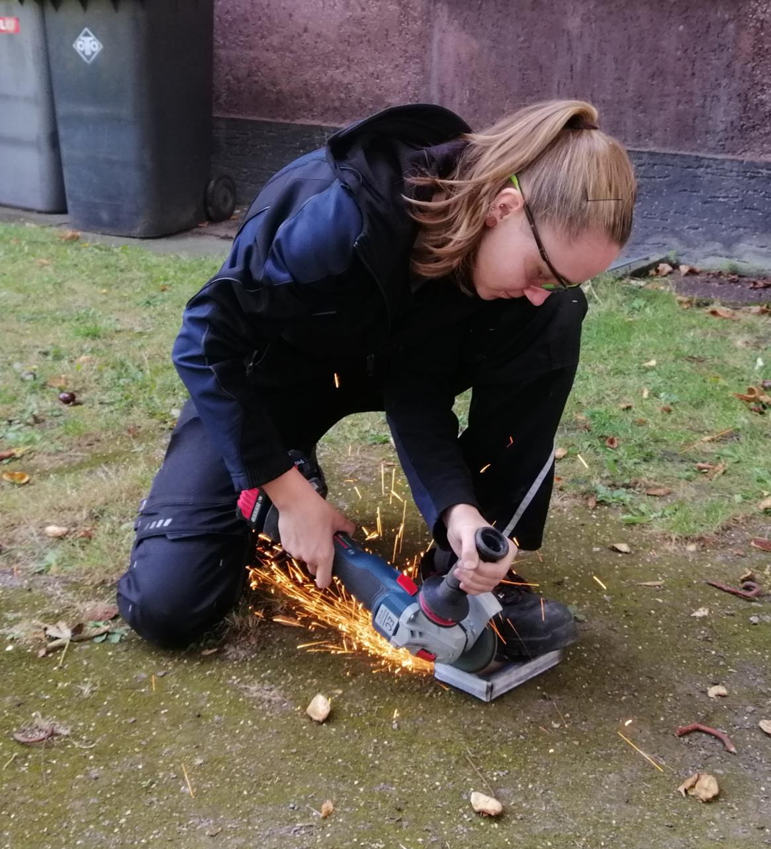 Frauen im Handwerk: Metallbauerin Melanie Tigges